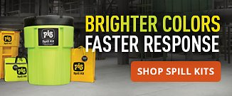 Brighter colors. Faster response. Shop spill kits.
