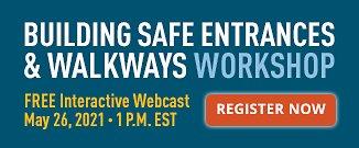 Building Safe Entrances Webcast Register Now