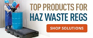 Top Products for Haz Waste Regs