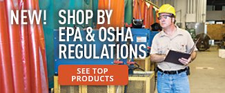 Top Products for EPA & OSHA Regulations