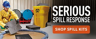 Serious Spill Response.  Shop All Kits.