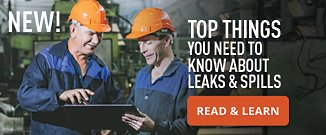 Learn to Manage Leaks & Spills