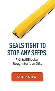 PIG SpillBlocker Rough Surface Dike