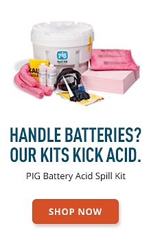 PIG Battery Acid Spill Kit