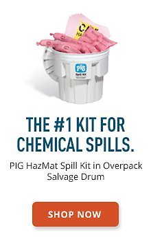 PIG HazMat Spill Kit in Overpack Salvage Drum
