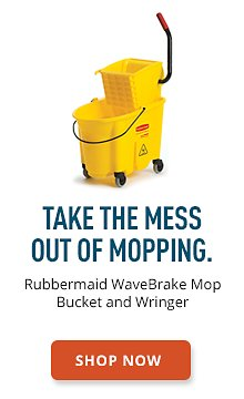 Rubbermaid WaveBrake Mop Bucket and Wringer