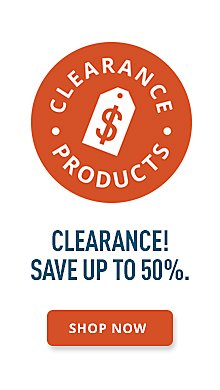 Clearance Save up to 50%