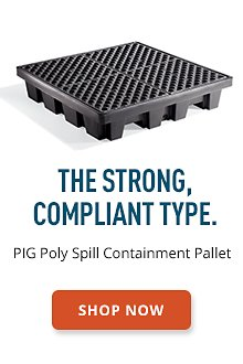 PIG Poly Spill Containment Pallet