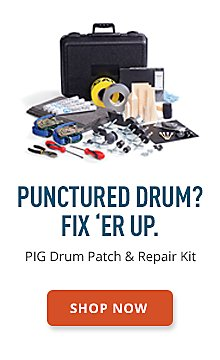 PIG Drum Patch & Repair Kit