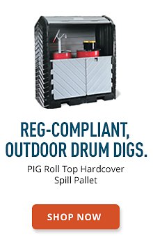PIG Roll Top Hardcover Spill Pallet