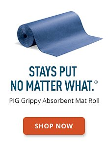 PIG Grippy Absorbent Mat Roll