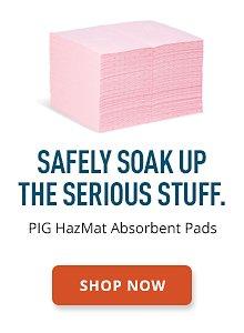 PIG HazMat Absorbent Pads