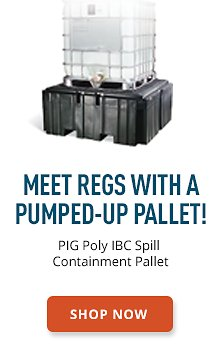 PIG Poly IBC Spill Containment Pallet