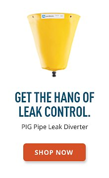 PIG Pipe Leak Diverter