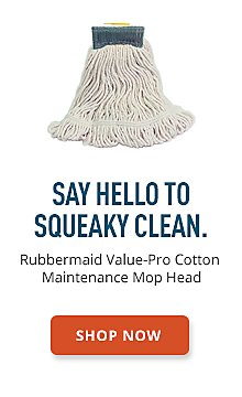 Rubbermaind Value-Pro Cotton Maintenance Mop Head