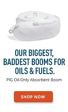 PIG Oil-Only Absorbent Boom