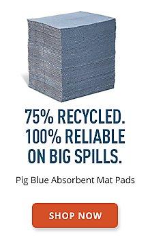 Pig Blue Absorbent Mat Pads