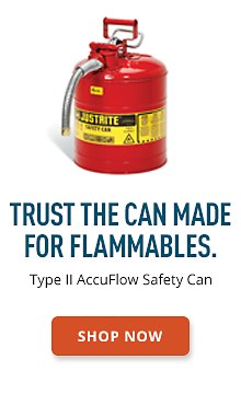 Type II AccuFlow Safety Can