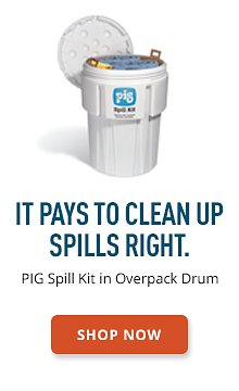 PIG Spill Kit in Overpack Drum