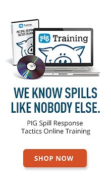 PIG Spill Response Tactics Training