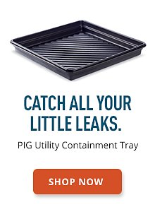 PIG Utility Containment Tray