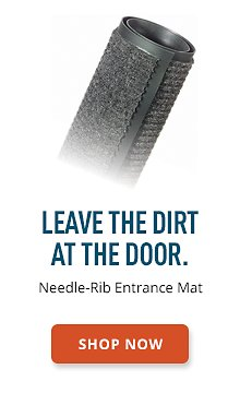 Needle-Rib Entrance Mat