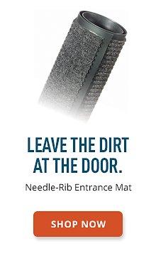Needle-Rib Entrance Mat