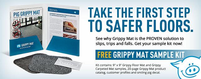 Grippy Mat Sample Kit Hero