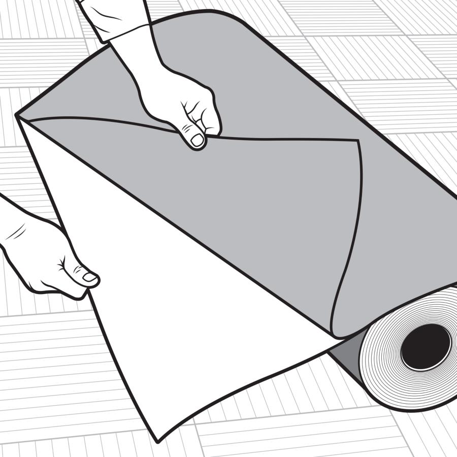 Carpet Protection Runner Guide Image