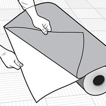 PIG Carpet Protection Runner Instruction Guide