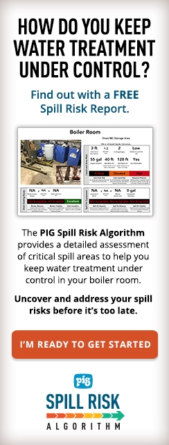 How do you keep water treatment under control? Find out with a free Spill Risk Report