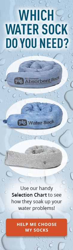 Which water sock do you need