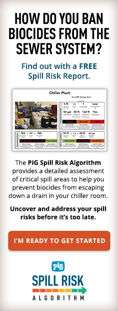 How do you ban biocides from the sewer system? Find out with a free Spill Risk Report