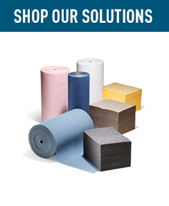 Shop Our Solutions Absorbent Mats.
