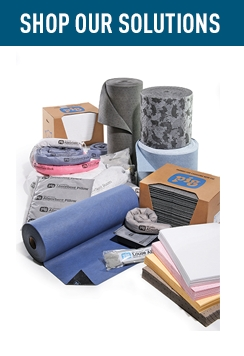 Shop Our Solutions Absorbents & Wipers.