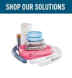 Shop Our Solutions Absorbent Socks and Booms.