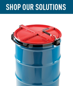Shop Our Solutions Latching Drum Lids.