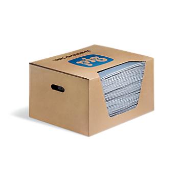 Pig Blue® Absorbent Mat Pad in Dispenser Box