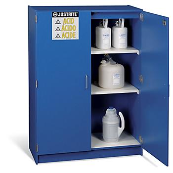 Justrite® Non-Metallic Corrosives Storage Cabinet