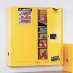 Justrite® Wall/Bench-Mount Flammable Safety Cabinet