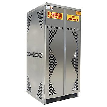 Aluminum Cylinder Storage Cabinet