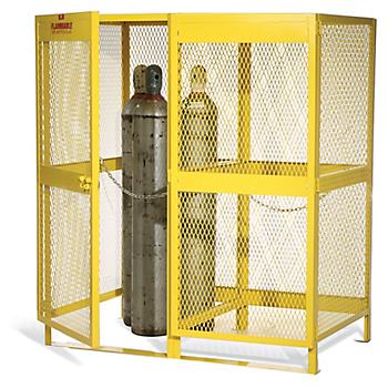 Steel Cylinder Storage Cabinet