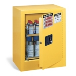 Justrite® Aerosol Can Benchtop Safety Cabinet