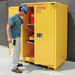SECURALL® Weatherproof Flammable Safety Cabinet