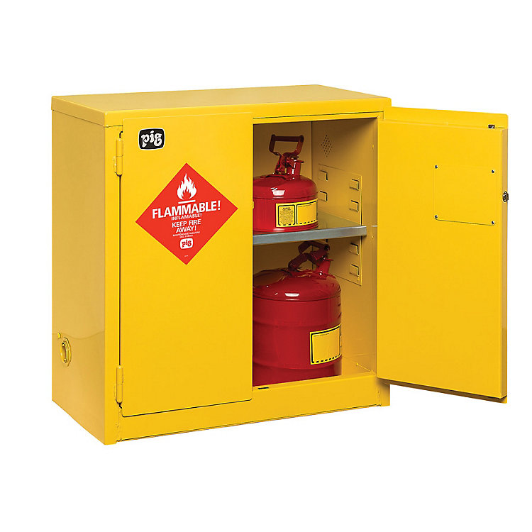 Customer Questions: Can a Flammable Cabinet Be Raised?