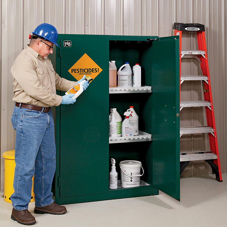 Customer Questions: Flammable Cabinet Self-Closing Doors & Colors