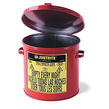 Steel Counter-Top Oily Waste Can
