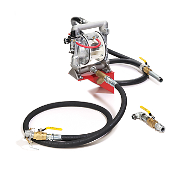 Zee Line Air-Operated Double Diaphragm Transfer Pump System