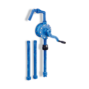 Zee Line HDPE Rotary Hand Drum Pump - Viton® Seals