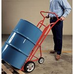 Wesco® Steel Easy Load Drum Truck